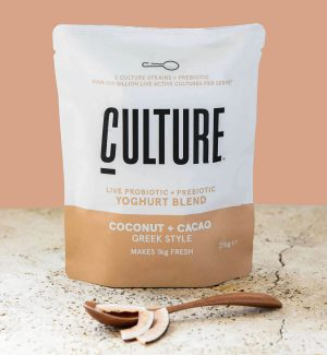 Culture Yoghurt Pack Shot Coconut and Cacao