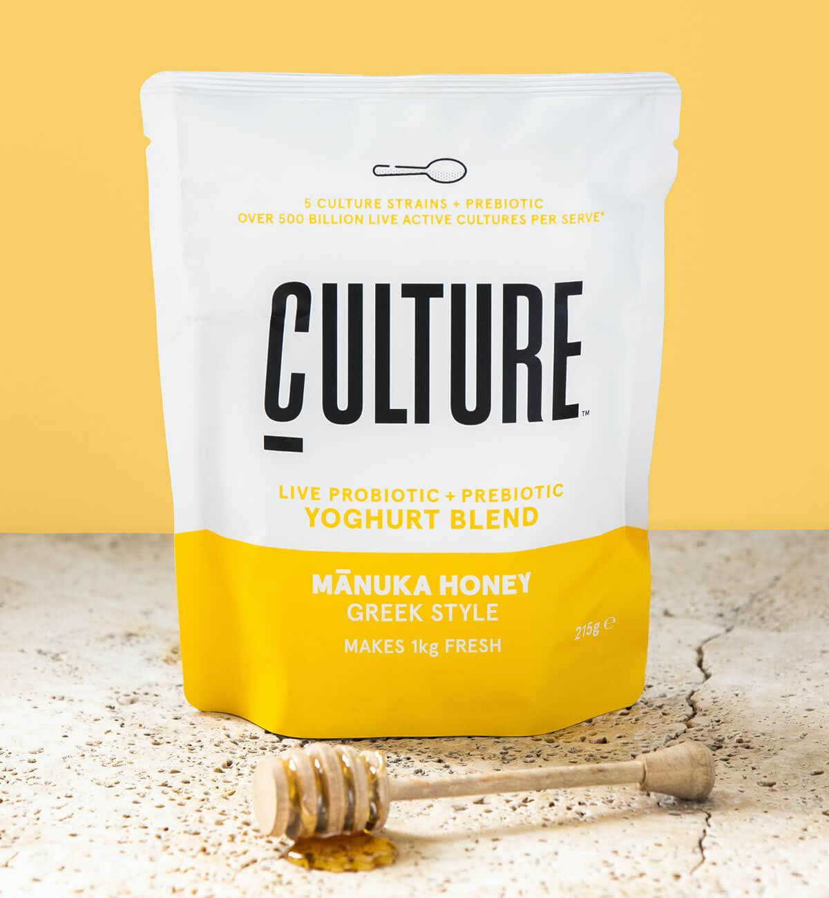 Culture Yoghurt Pack Shot Manuka Honey